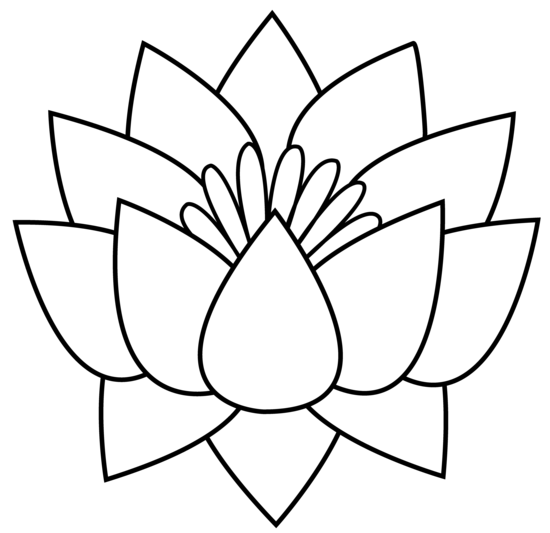 Lotus Flower Clipart.