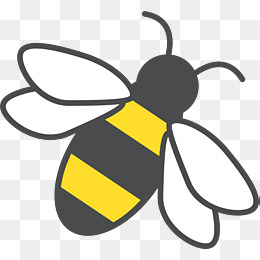 Yellow Bee Png, Vector, PSD, and Clipart With Transparent Background.
