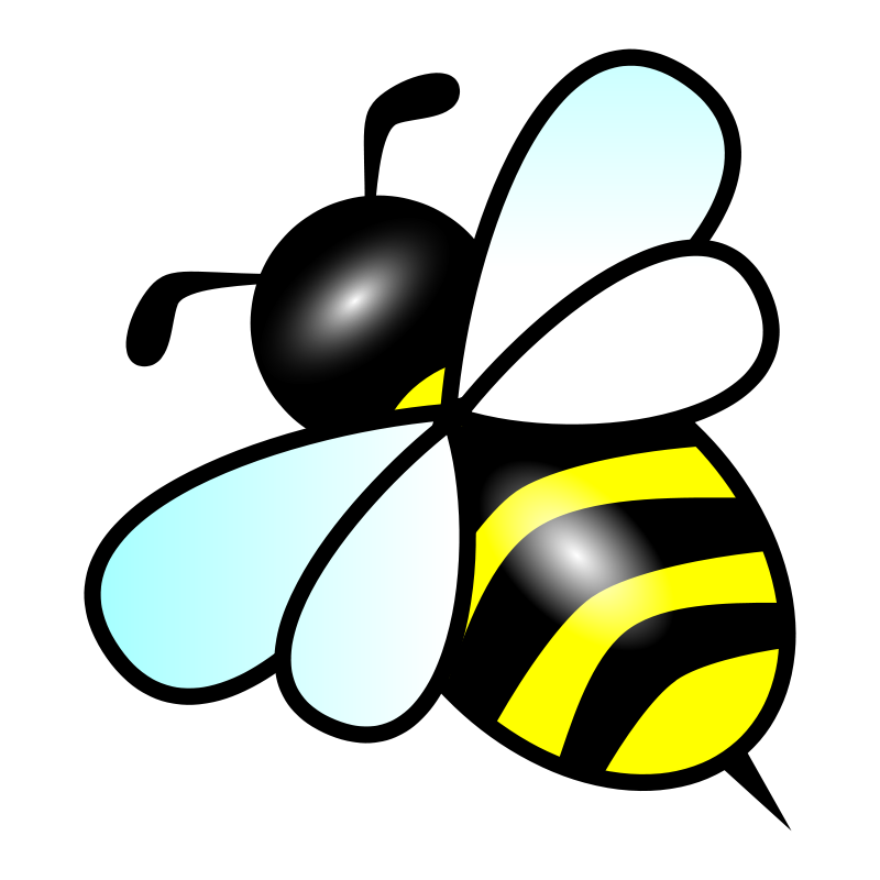 Bumble Bee Outline.