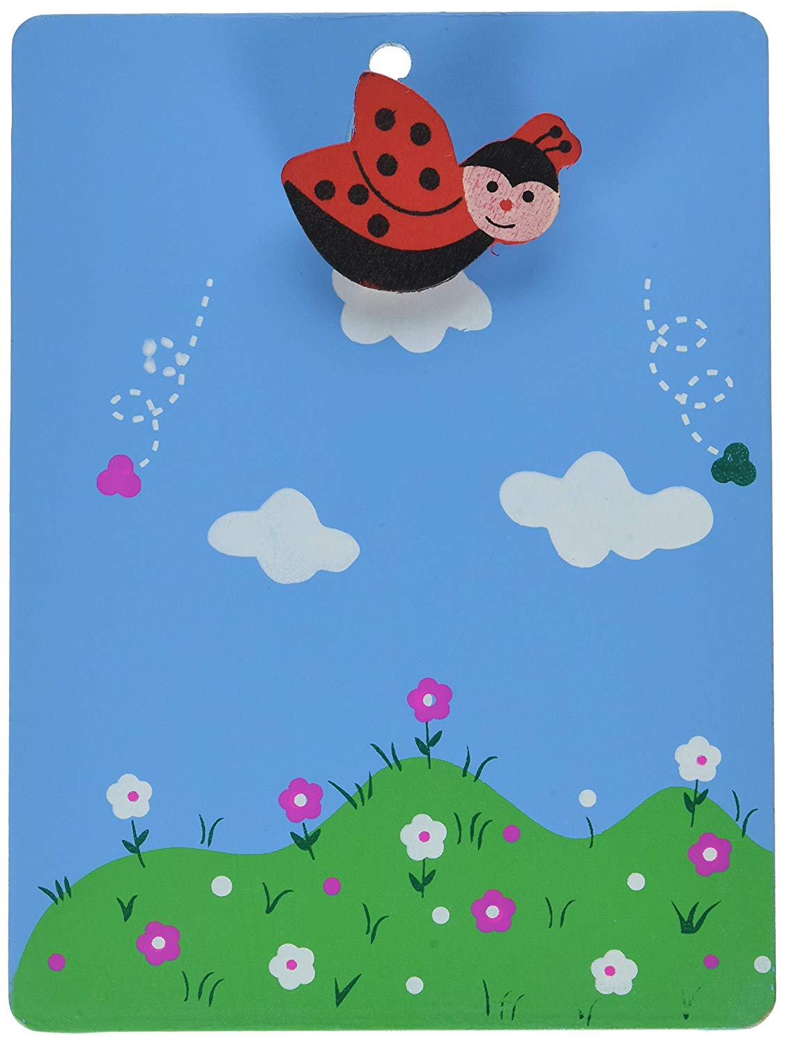 Amazon.com : Uxcell Wooden Bee Shaped Grassland Pattern.