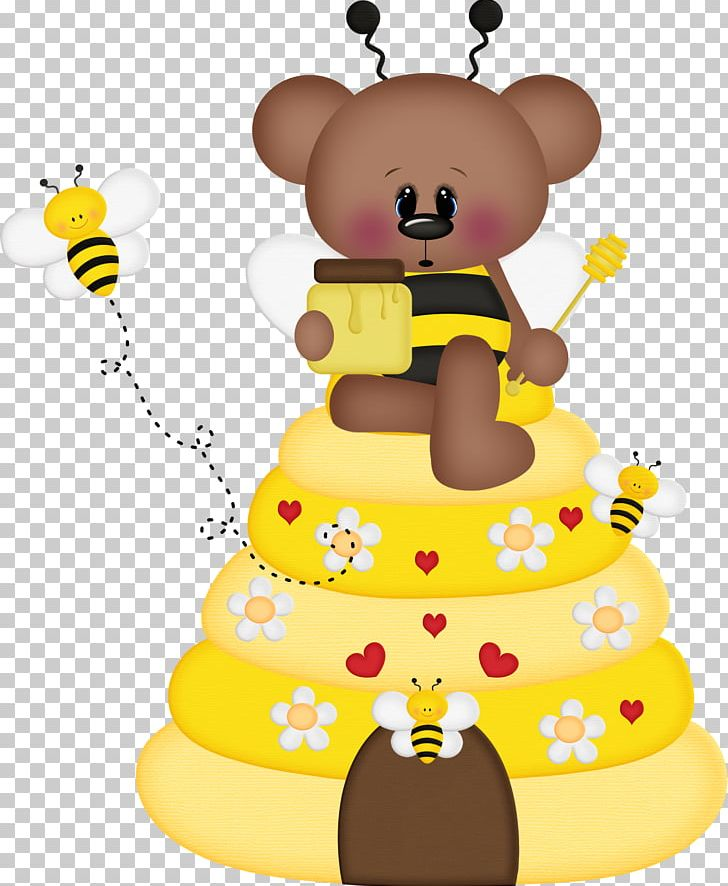 Bee Bear Insect Drawing PNG, Clipart, Animal, Bear, Bee.