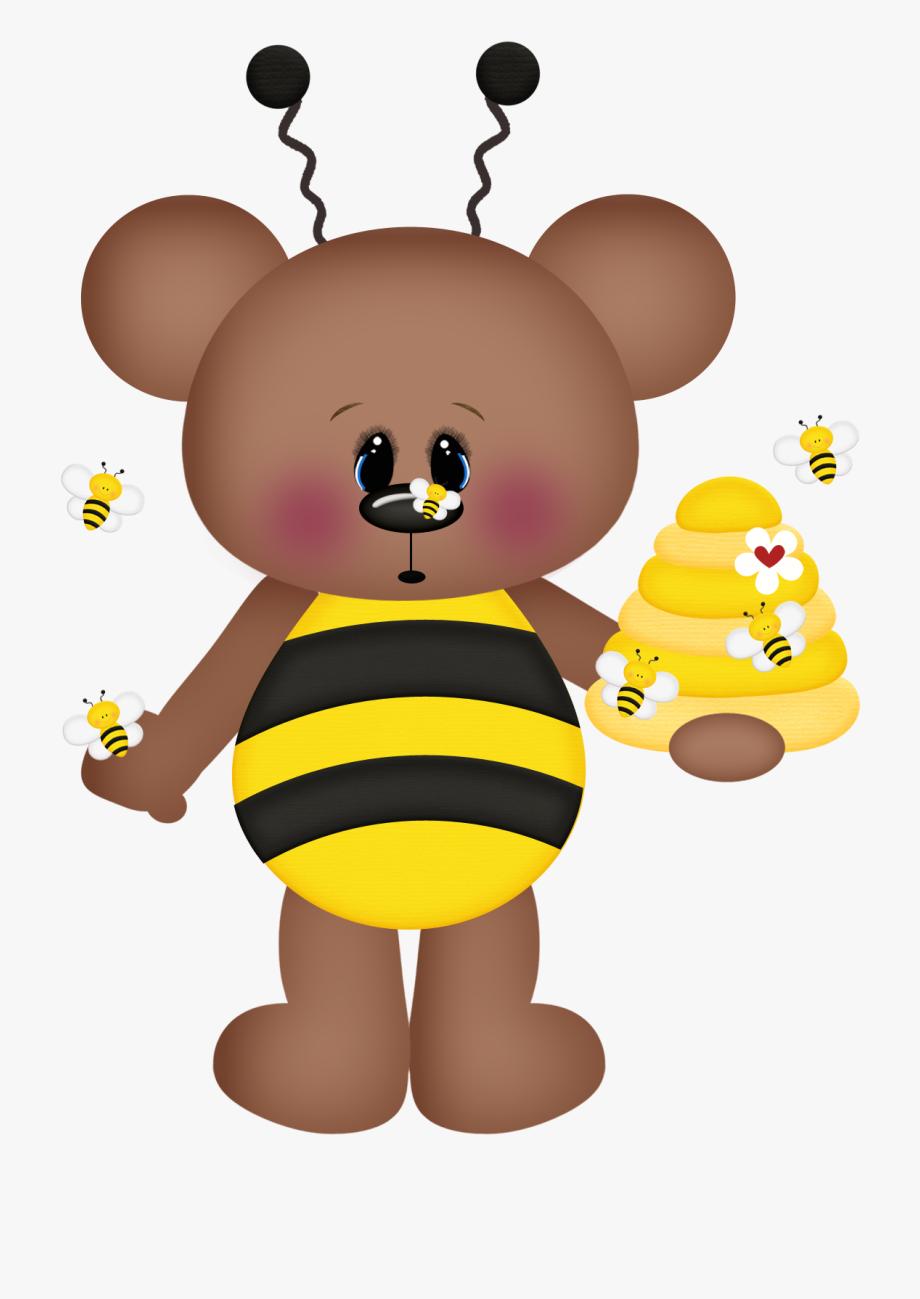 Bees Clipart Bear.