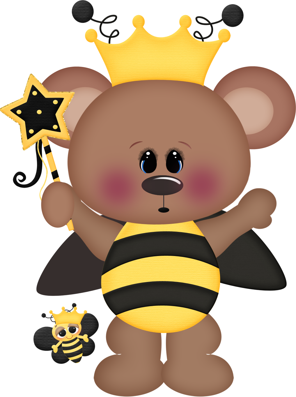 Clipart bee bear, Clipart bee bear Transparent FREE for.