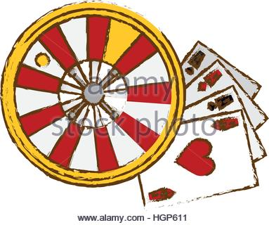 roulette wheel clipart.