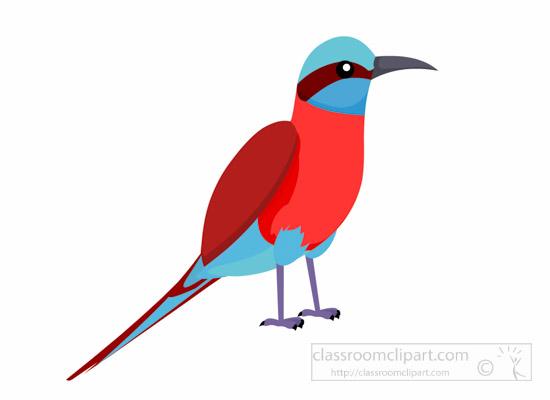 Bird Clipart : carmine.