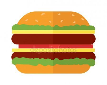 Spicy beef burger Stock Vectors, Royalty Free Spicy beef burger.