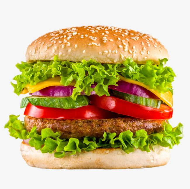 Delicious Beef Burger PNG, Clipart, Beef, Beef Clipart, Bread.