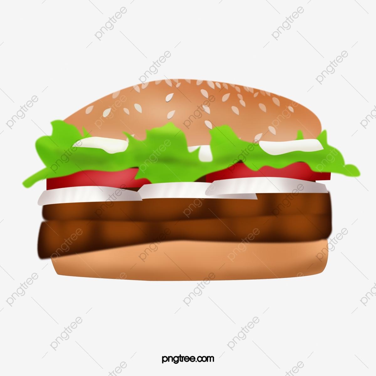 Double Beef Burger, Burger Clipart, Product Kind, Hamburger PNG.