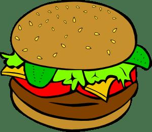 Beef burger clipart » Clipart Portal.