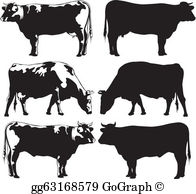Beef Cattle Clip Art.
