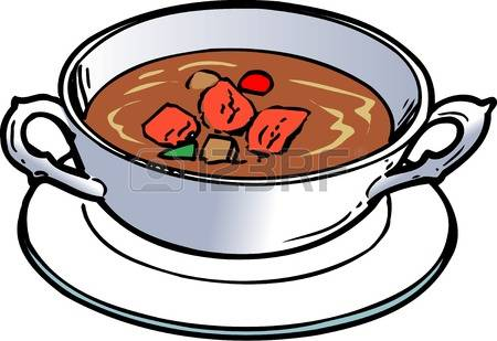 Beef stew clipart.