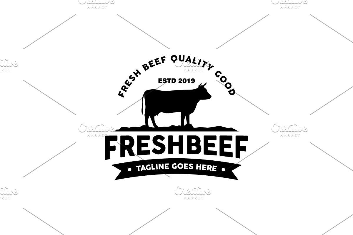 Vintage Beef Logo.