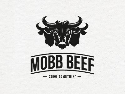 Mobb Beef Logo by Black Booze Illustrations on Dribbble.