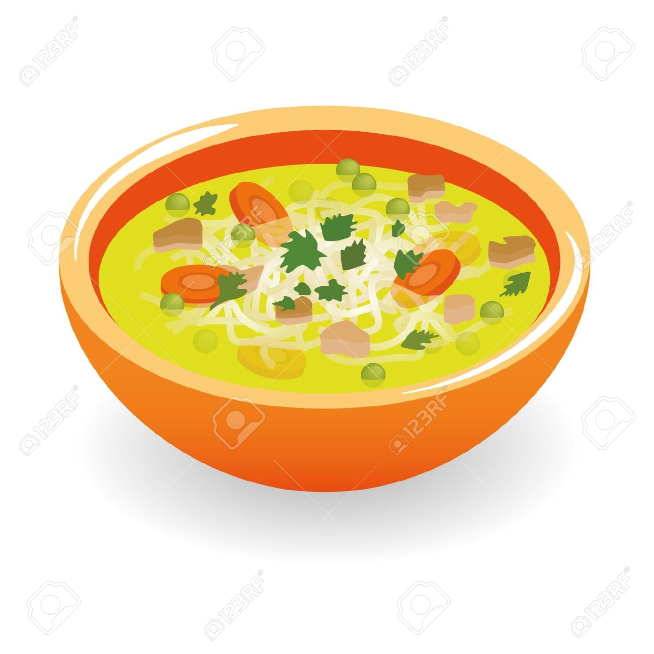 Beef Broth Soup Royalty Free Cliparts, Vectors, And Stock.