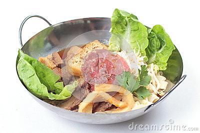 Beef Noodles.