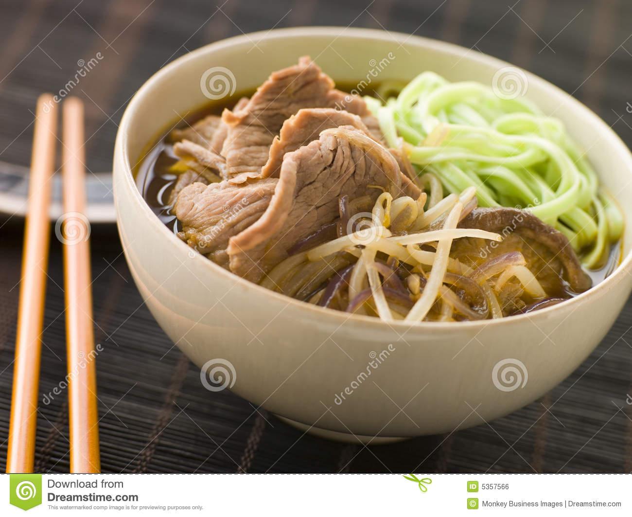 Beef Ramen Noodles Clipart.