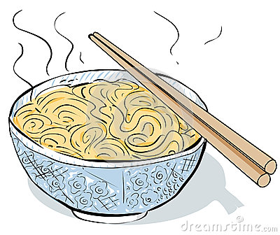 Chinese Noodles Clipart.