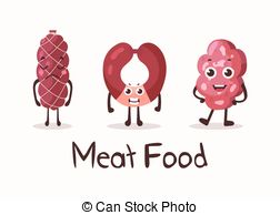 Vector Clipart of meat roulade csp22727101.
