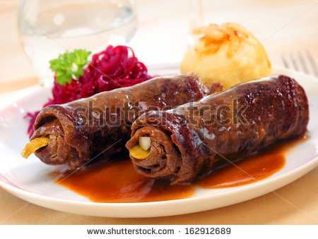 Rolled Veal Stock Photos, Royalty.