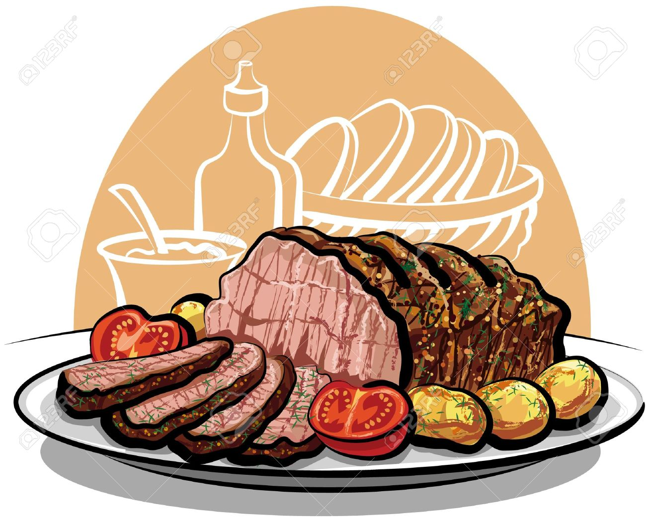 Free Beef Clipart Clip art of Beef Clipart #4834 — Clipartwork.