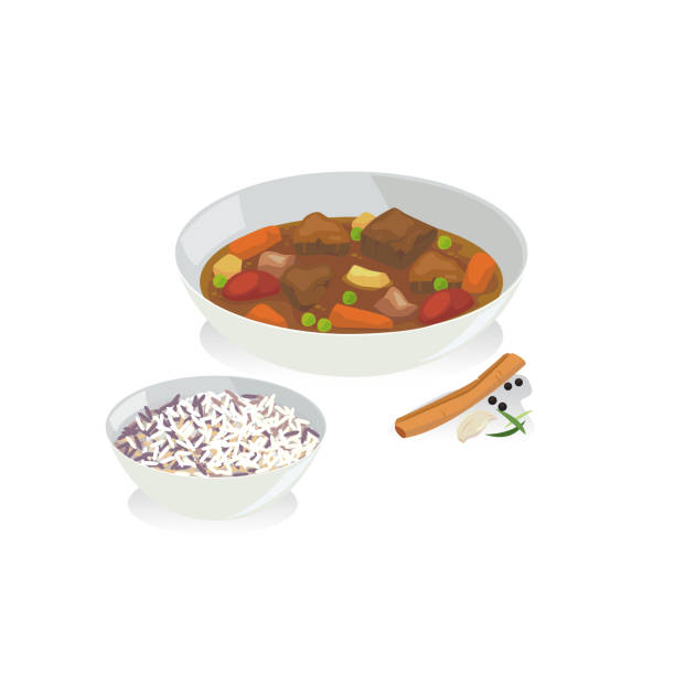 Top 60 Beef Stew Clip Art, Vector Graphics and Illustrations.