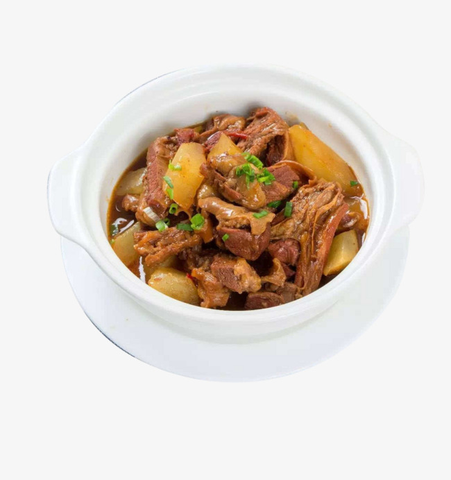Download Free png Beef Stew Turnip, Beef, Chopped Green Onion.