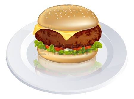 306 Beefburger Stock Vector Illustration And Royalty Free.