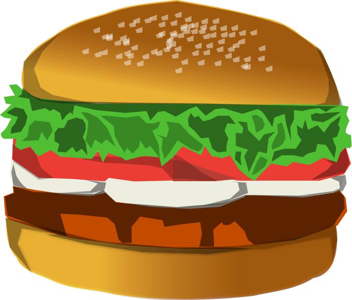 Free Hamburger Clipart, 1 page of Public Domain Clip Art.