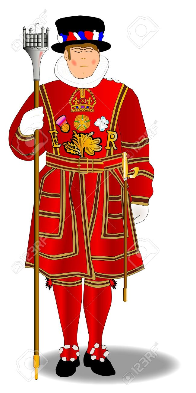 Beefeater Clipart.