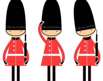 Royal guard clipart.