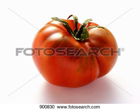 Stock Photography of A Beefsteak Tomato 900830.