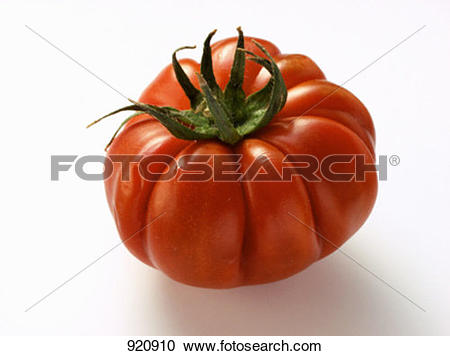 Stock Photography of Summer beefsteak tomato 920910.