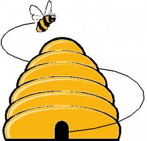 Beehive honey bee hive clipart kid 2.