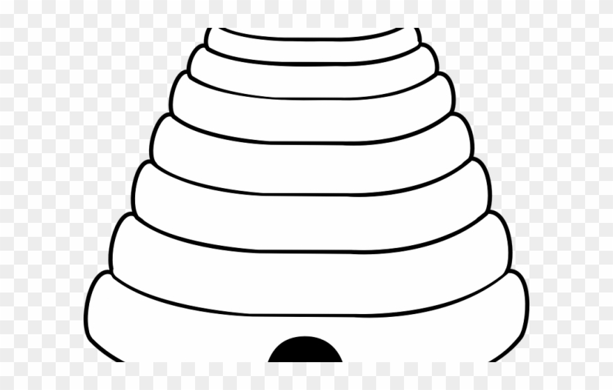 Bee Hive Clipart Circle.