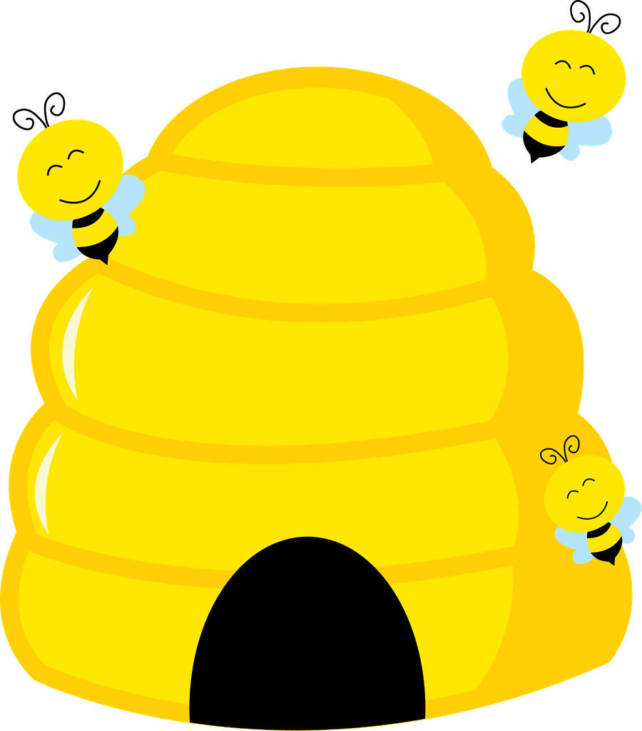 Beehive top hive clip art free clipart image 2.