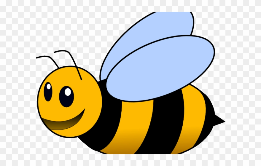 Bee clipart clear background, Bee clear background.