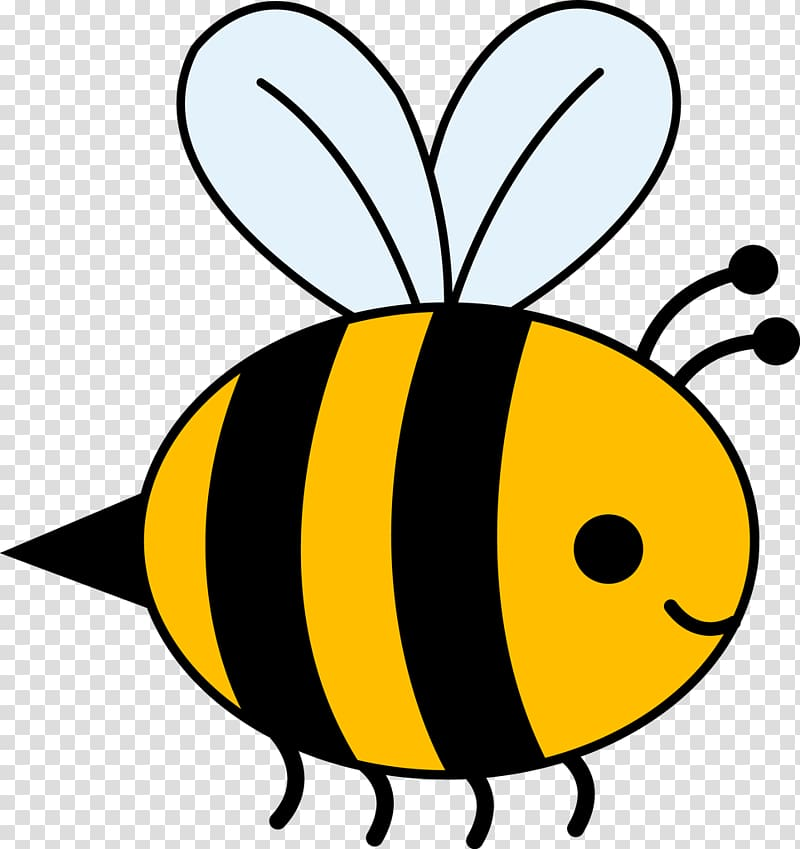 Bumblebee Honey bee , bee transparent background PNG clipart.