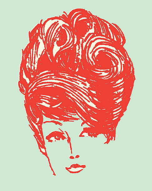 Best Beehive Hair Illustrations, Royalty.