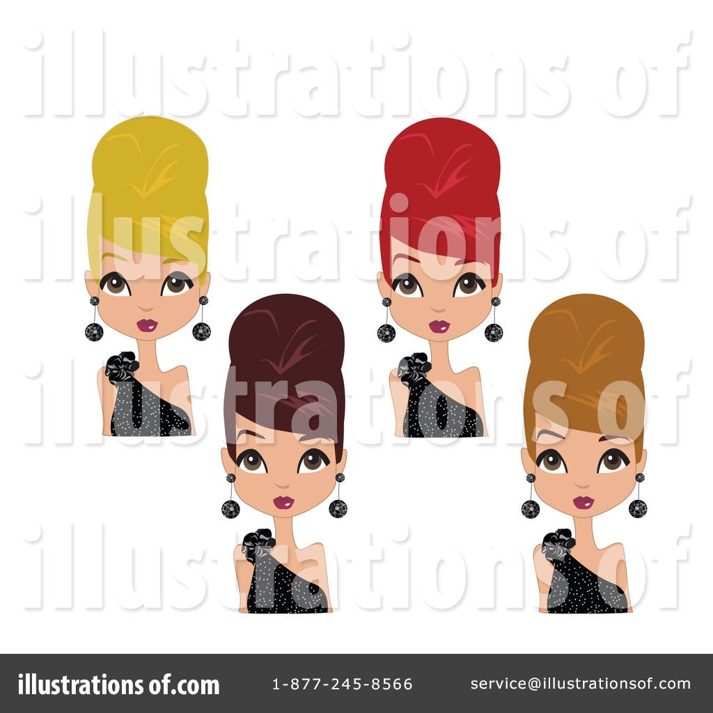 Beehive Hair Clipart #1052121.