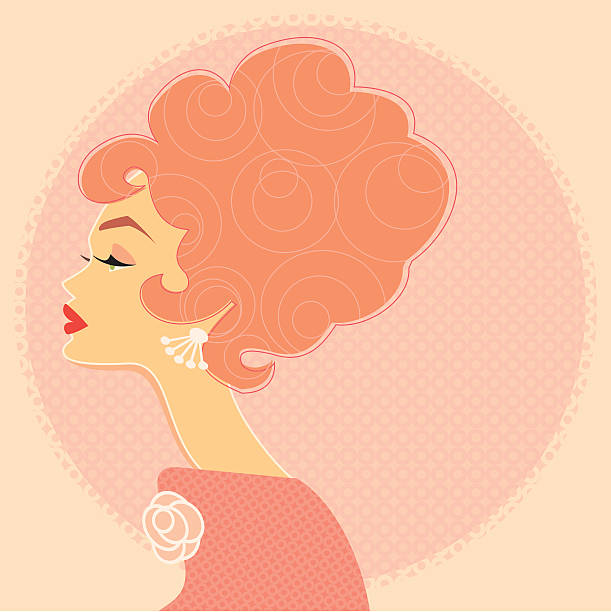 Best Beehive Hair Illustrations, Royalty.