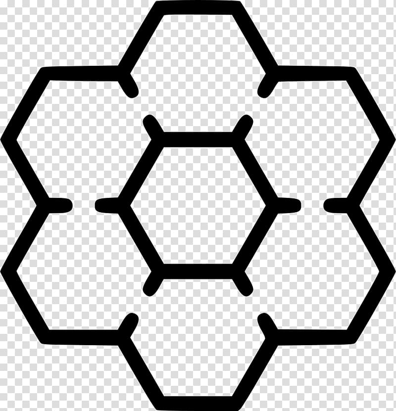 Honey bee Insect Hexagon Beehive, beehive transparent background PNG.