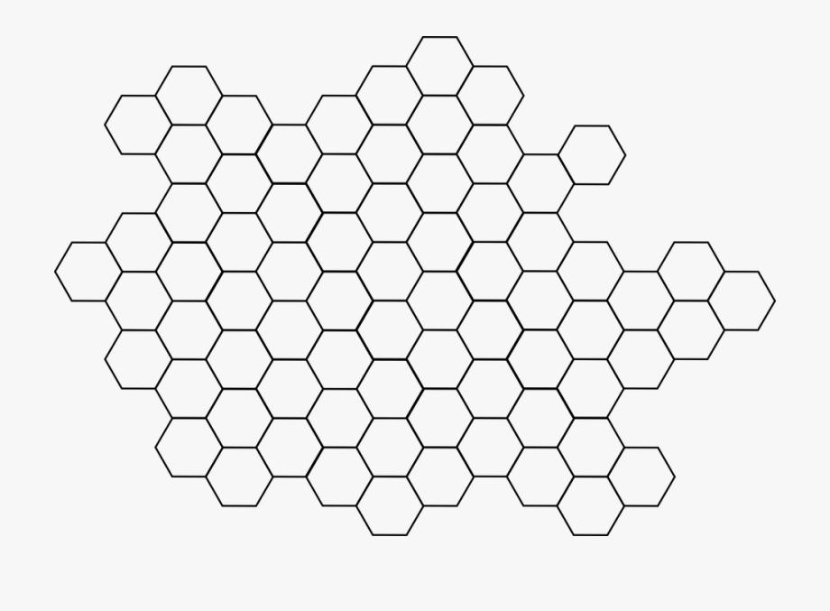 Hexagon, Pattern, Bee, Hive, Beehive, Hexagonal.
