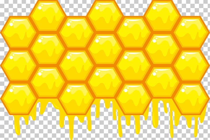Bee Honeycomb Hexagon Illustration PNG, Clipart, Beehive, Cellular.