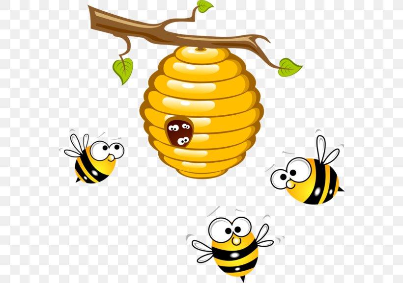 Beehive Honey Bee Clip Art, PNG, 600x577px, Bee, Beehive.