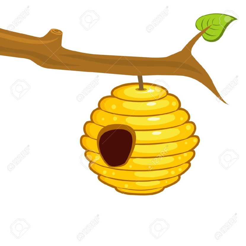 9274 Bee free clipart.