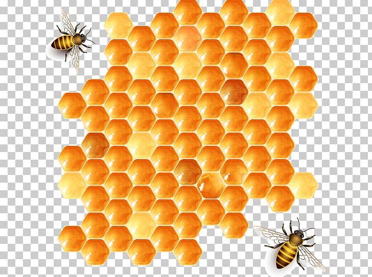 Beehive Honeycomb Honey Bee PNG, Clipart, Advertising, Bee, Beehive.