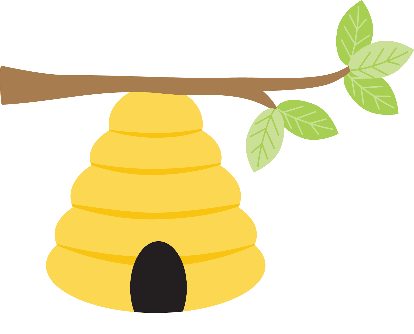 Image Royalty Free Library Bee Hive Tran #44197.