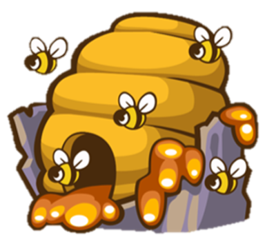 Download Free png Image Beehive.png.