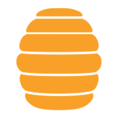 Beehive Icon transparent PNG.