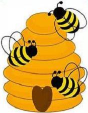 Free Beehive Clipart.